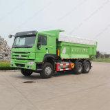 판매를 위한 Sinotruk 6X4 371HP Euro2 HOWO 쓰레기꾼 트럭 팁 주는 사람 트럭