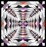Form fertigen quadratischen Schal kundenspezifisch an