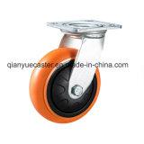 Chasse lourde d'unité centrale de couleur orange, émerillon, couverture en plastique