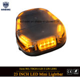 High Bright Amber Warning Strobe Camions d'urgence / Auto Cars Lightbars à LED Mini Barre de lumière Police magnétique Open Ambulance Fire Engine Police Car Lightbar