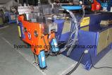 Dobladora del servocontrol de Dw75cncx2a-1s del tubo de acero azul de la moto
