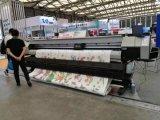 impresora solvente de Eco del formato grande de los 3.2m con la cabeza de impresión doble Dx5 para hacer publicidad