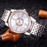 Reloj impermeable de lujo del asunto de la venda de acero del reloj de los hombres de H377-S para la venta