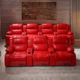 Sofà sezionale del cinematografo per il sofà del Recliner del teatro domestico