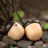Haut-parleur sans fil de poche de mini de Bluetooth de haut-parleur seule forme sans fil portative de noix avec la voix de son de chaîne de caractères