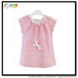 거품 소매 아기 착용 Gots에 의하여 증명서를 주는 여자 아기 t-셔츠