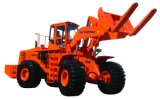 Cargador de la carretilla elevadora del programa piloto de bloque de motor de TM816 16ton Weichai para la venta