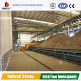 Machine de fabrication de brique d'argile, excavatrice à compartiments multiples