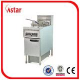 Friteuse profonde debout libre d'Astar avec la gestion par ordinateur micro, friteuse de film publicitaire de grande capacité