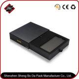 Подгонянная коробка черноты логоса бумажная упаковывая для электронных продуктов
