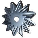 Metal de folha da precisão do suporte de SGCC