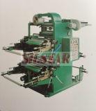 Impresora bicolor de la película plástica