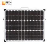 180W 단청 3 조정가능한 부류를 가진 접히는 태양 전지 유연한 태양 전지판