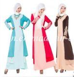 Vêtements africains de prière de femme de robe de femme de polyester coloré