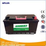 Tipo 60038 12V100ah DIN100 da manutenção da bateria do veículo do elevado desempenho baixo