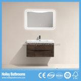 Mobilia europea moderna della stanza da bagno con lo specchio della lampada del LED (BF312D)