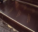 포플라 코어 18mm 브라운 필름은 건축을%s 합판을 직면했다