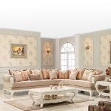 標準的なファブリックコーナーのソファーは部門別のソファーのためのChaiseのラウンジの単一の椅子とセットした