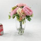 Bonsais con clase de las flores artificiales del terrario