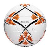 Шарик футбола пузыря латекса гибридный составной кожаный
