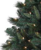 2017装飾が付いている人工的なプラスチックマツ針のクリスマスツリー