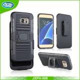 Caixa do telefone móvel do híbrido TPU+PC Kickstand, para a caixa do telefone de Samsung, para o caso da borda de Samsung S7