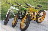 脂肪質のタイヤの雪山の砂浜都市Eバイク