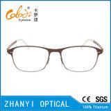 Monocolo di titanio Eyewear (9107-EW) del blocco per grafici di vetro ottici del Pieno-Blocco per grafici leggero variopinto