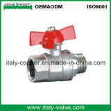 Italycopper ha prodotto 8 anni di garanzia della farfalla di valvola a sfera maschio (AV1037)