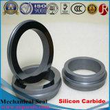 Кольцо уплотнения Sic карбида кремния неподвижное вращая