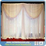 A tubulação do casamento e drapeja, tubulação ajustável do contexto da barra transversal e drapeja