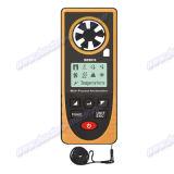 Anémomètre universel, vitesse d'air, mètre de vitesse du vent, thermomètre, anémographe, pression d'Arometric, altitude, illumination Be8910