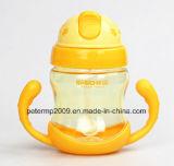 la migliore vendita 280ml scherza la bottiglia con colore su ordinazione, la bottiglia di acqua dentellare di colore (hn-2905)
