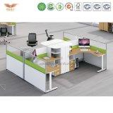 Divisória de sistema moderna do escritório da mesa dos compartimentos da estação de trabalho do escritório (H15-0802)