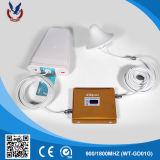 Repetidor dual de la señal del teléfono celular del G/M 3G de la venda para la casa