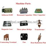 Máquina relativa à promoção do endurecimento de indução para a superfície de metal