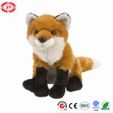 Cadeau mou bourré par séance de qualité de jouet de peluche de Fox pour des gosses