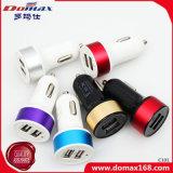 Mobiler Handy 2 Doppel-USB-Verbinder-einziehbare Auto-Aufladeeinheit