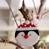 De Decoratie die van het Ornament van de kerstboom de Kleine Sneeuwvlok van de Sneeuwman hangen