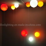 실내 점화를 위한 유럽식 유리제 빨간 풍선 벽 램프