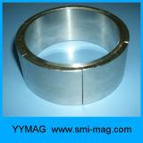 NdFeBは磁石の形アークの形の磁石のネオジムをカスタマイズした