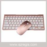 Mini insieme senza fili della tastiera del mouse 2.4G del computer portatile sottile