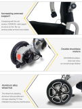 Sillón de ruedas plegable de aluminio ligero de la energía eléctrica de Topmedi
