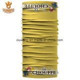 최고 가격 Microfiber 노란 스카프를 인쇄하는 최신 좋은 품질 스크린