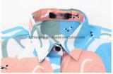 Chemise estampée du `S de femmes de fibre d'acétate