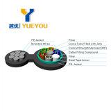 Cable óptico unimodales autosuficiente de fibra de las memorias de Aeial 24 9/125