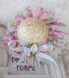 Beaux accessoires de chapeau de paille de crabot de produits d'approvisionnement d'animal familier (KH1010)