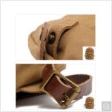 Bolso impermeable del morral de la escuela de la lona de la mochila del estudiante de Leisurre