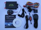 Veicolo GPS del programma di Google dell'automobile che segue lavoro GPS105 con la macchina fotografica, allarme del combustibile, sistema della serratura di controllo