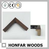 Bâti en bois moderne de photo d'illustration de Brown moulant pour la décoration
